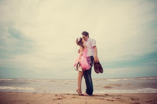 沙灘婚紗照-台北婚攝550伍哥