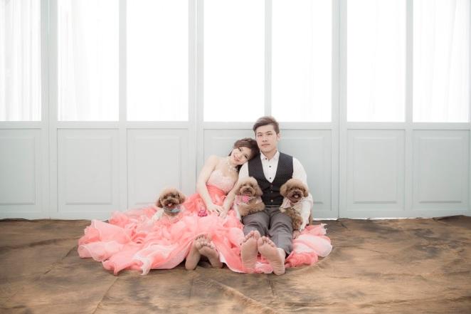 寵物婚紗~與毛小孩拍婚紗-婚攝550