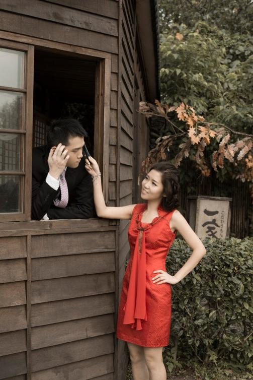 復古日式建築婚紗照-台北婚攝550伍哥