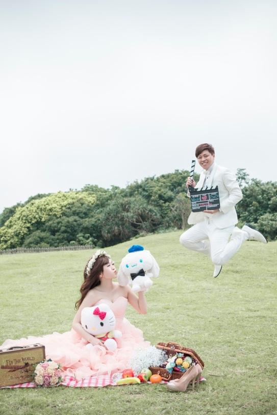 草原野餐風婚紗照-台北婚攝550伍哥
