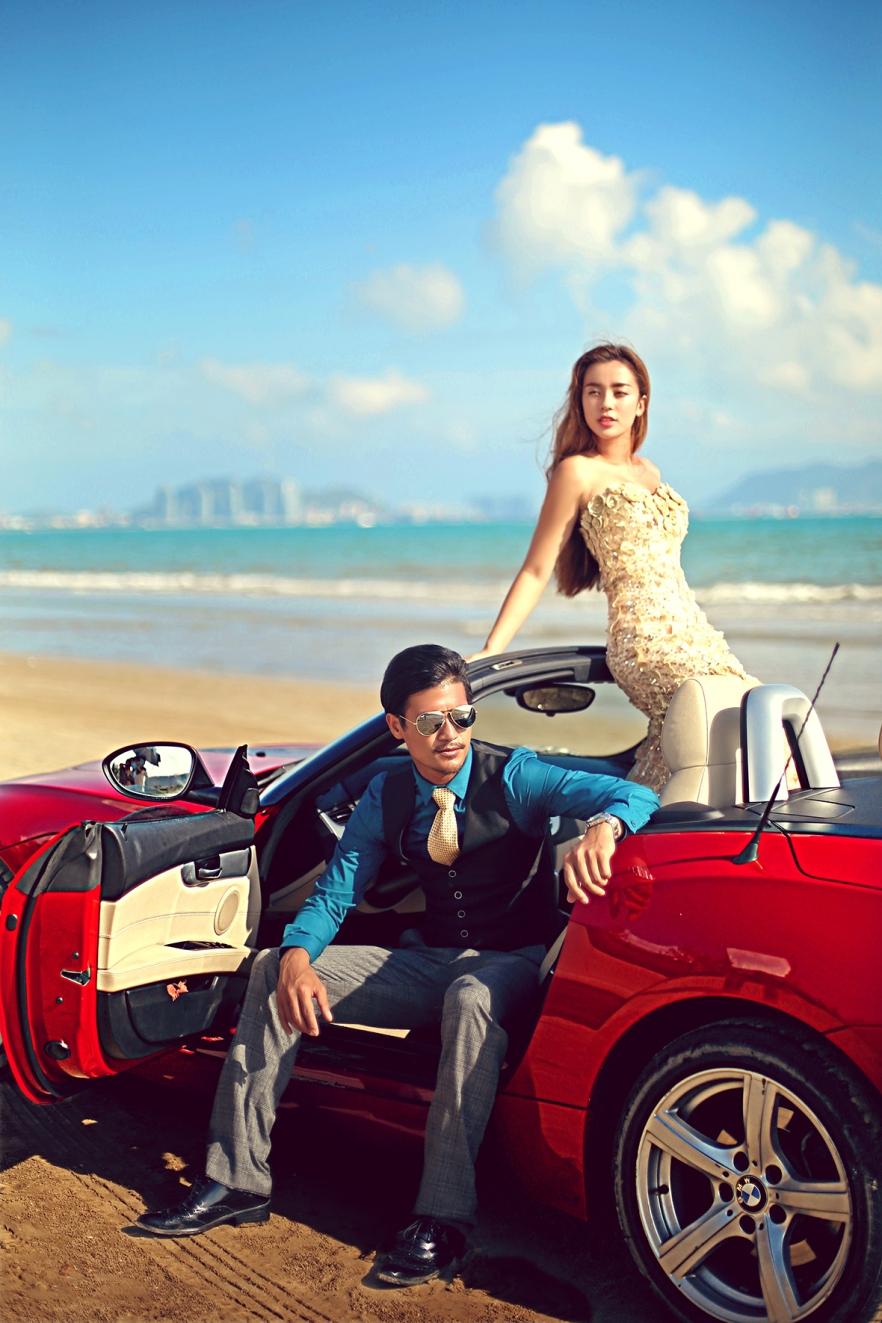 台北婚攝伍哥推薦-三亞婚紗攝影工作室